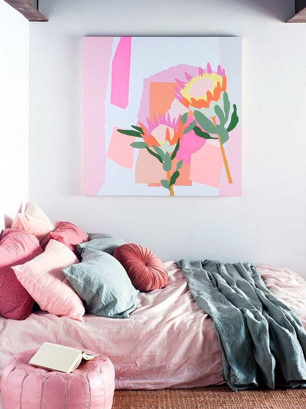 Stunning Modern Colorful Bedroom Decor Ideas 36