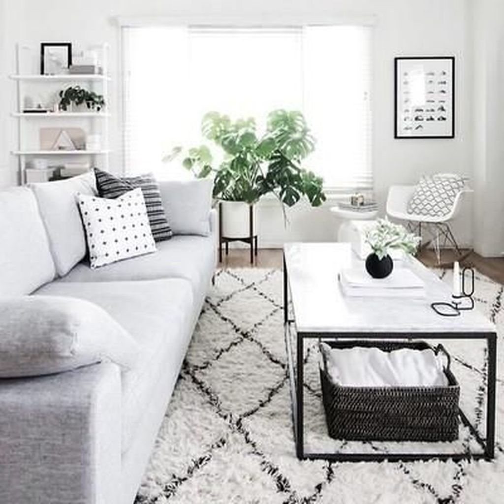 Stunning Neutral Decor Ideas For Your Living Room 24