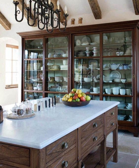 The Best Farmhouse Kitchen Cabinets Design Ideas 06