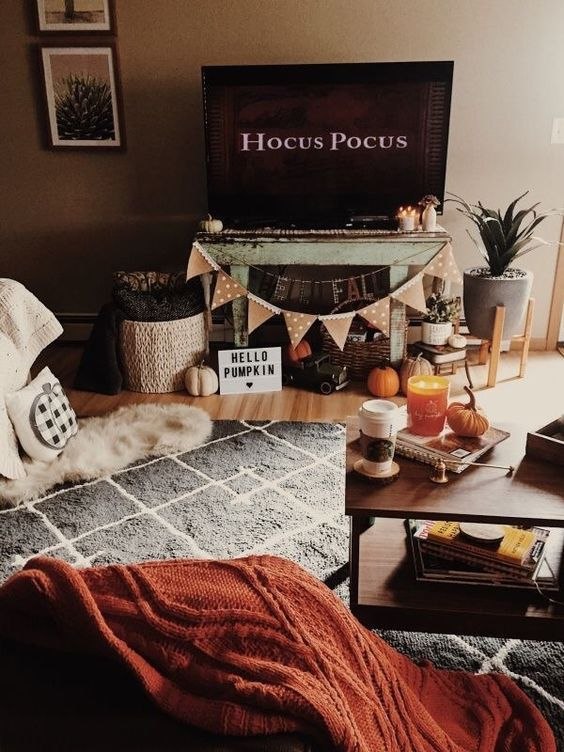 The Best Thanksgiving Living Room Decor Ideas 02