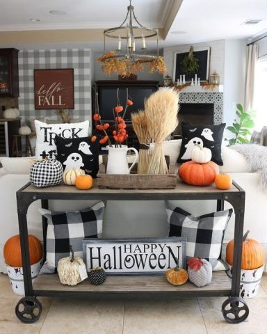 The Best Thanksgiving Living Room Decor Ideas 04