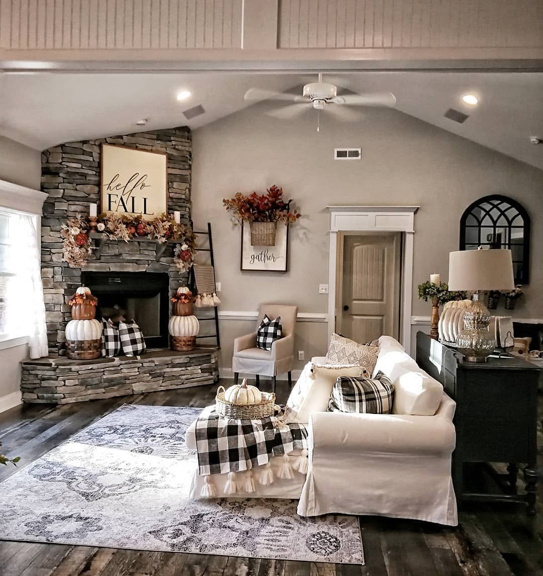 The Best Thanksgiving Living Room Decor Ideas 06