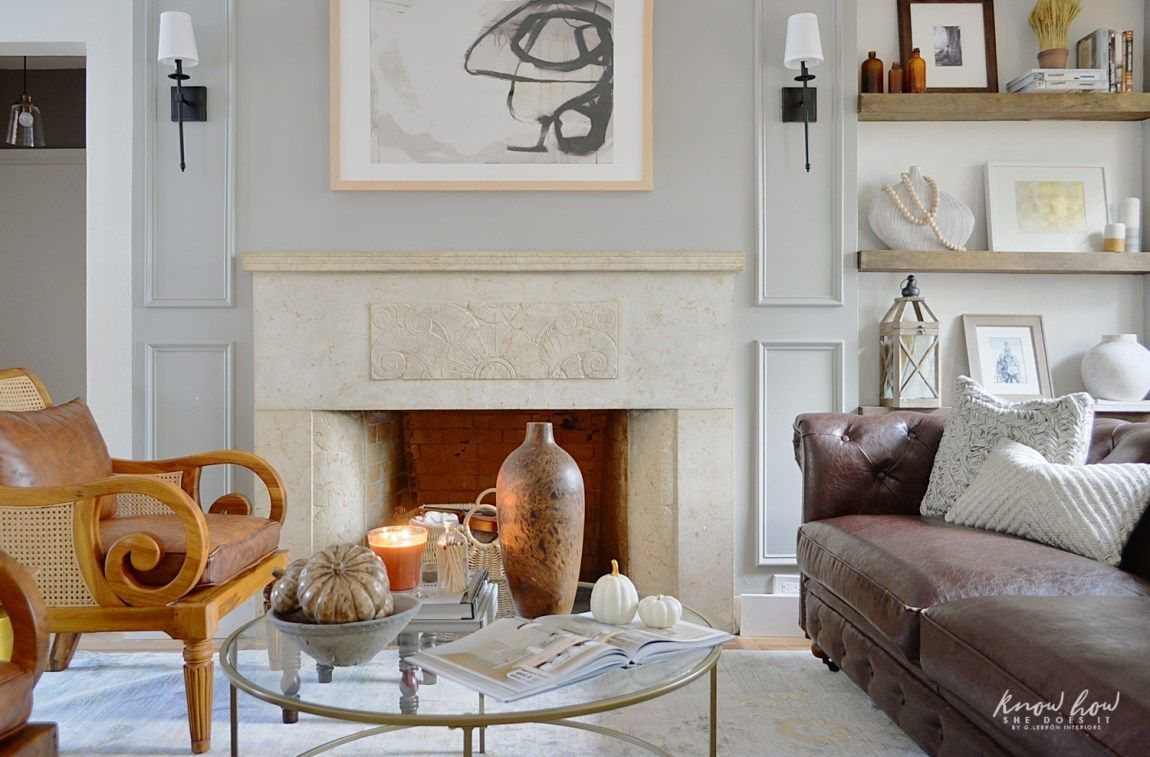 The Best Thanksgiving Living Room Decor Ideas 21