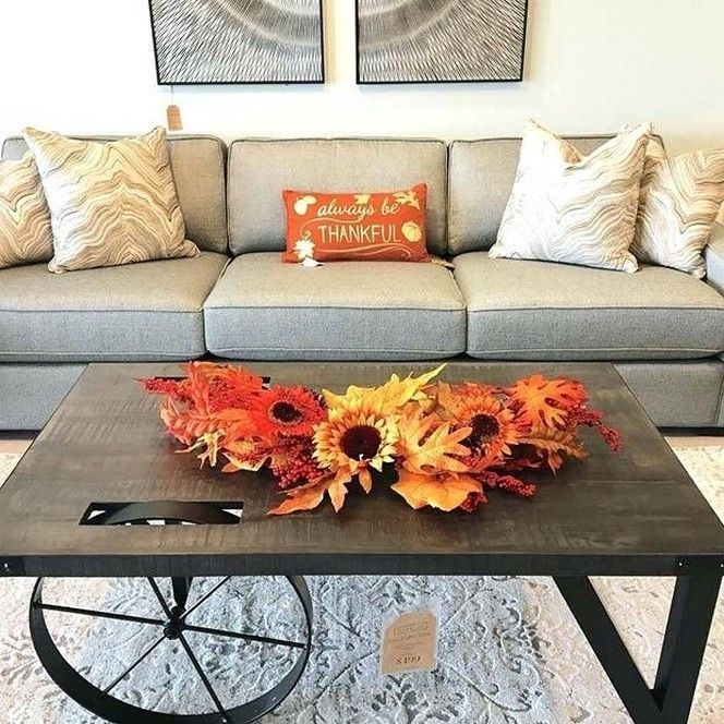 The Best Thanksgiving Living Room Decor Ideas 24