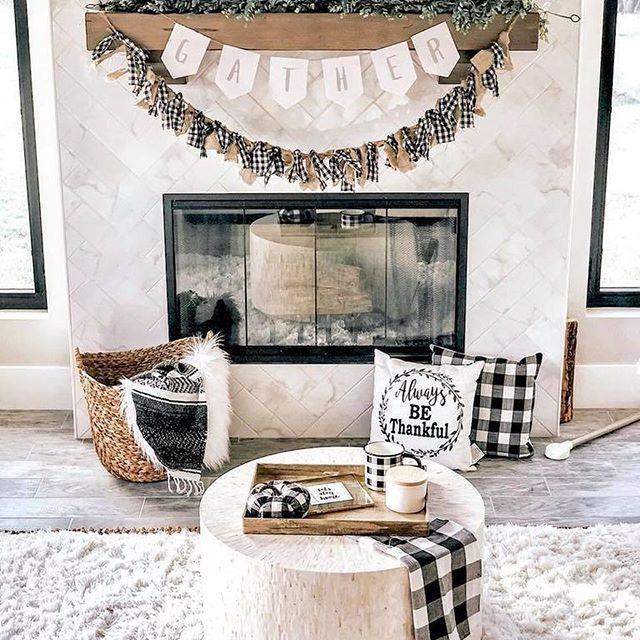 The Best Thanksgiving Living Room Decor Ideas 37