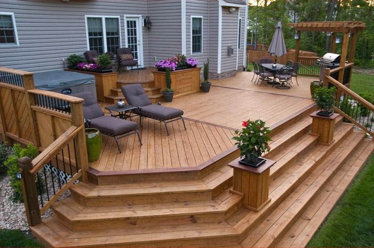 The Best Wooden Deck Design Ideas For Your Outdoors Patios 03 1