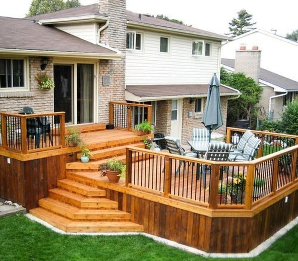 The Best Wooden Deck Design Ideas For Your Outdoors Patios 20