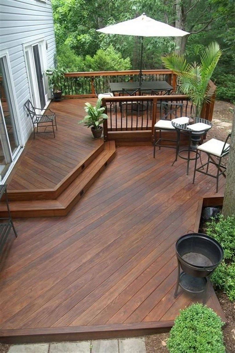 The Best Wooden Deck Design Ideas For Your Outdoors Patios 22