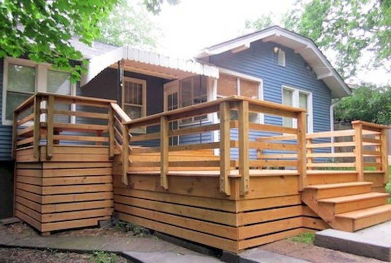 The Best Wooden Deck Design Ideas For Your Outdoors Patios 35