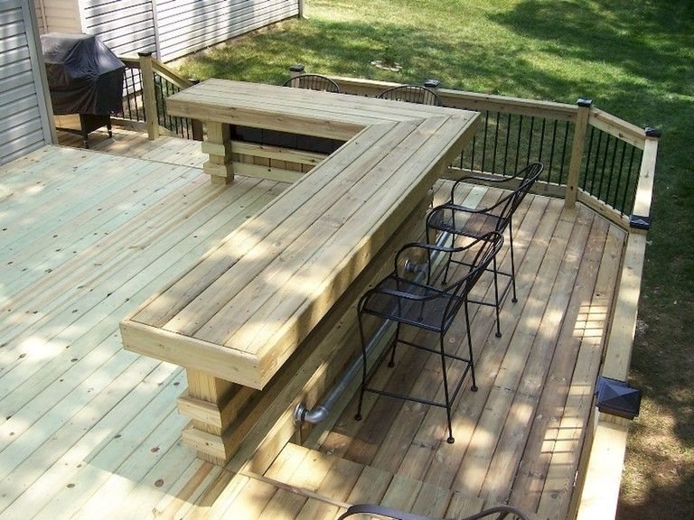 The Best Wooden Deck Design Ideas For Your Outdoors Patios 38