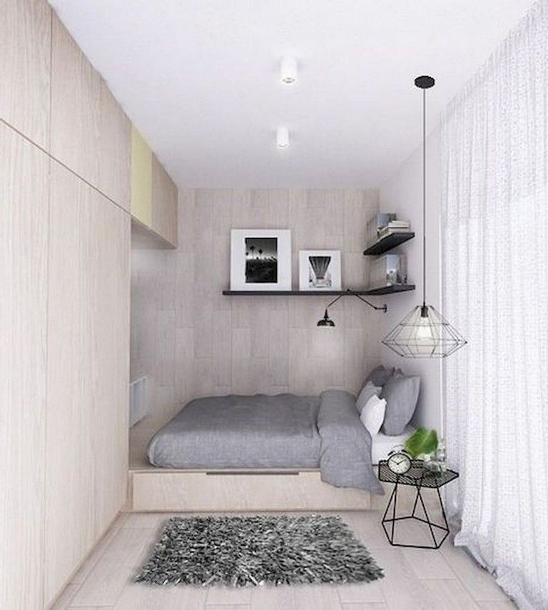 Awesome Modern Small Bedroom Design And Decor Ideas 01
