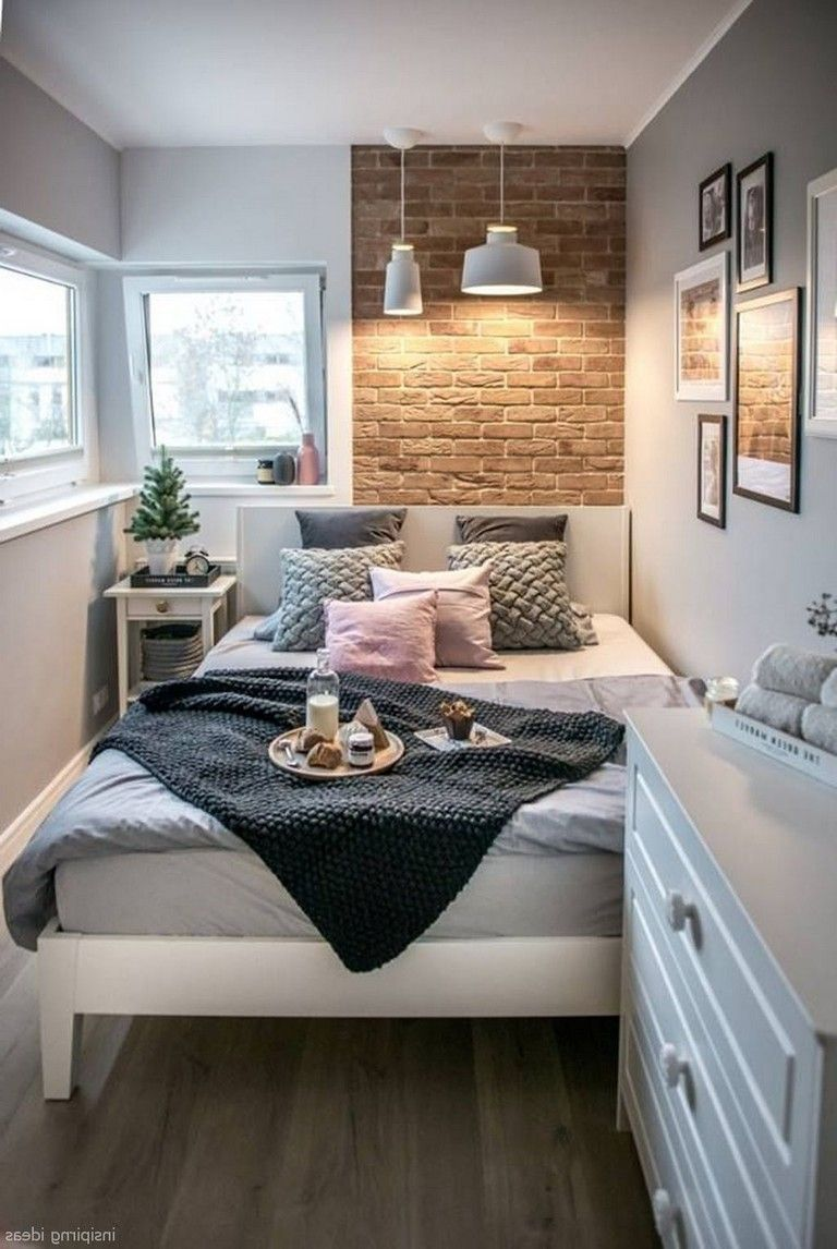 Awesome Modern Small Bedroom Design And Decor Ideas 29