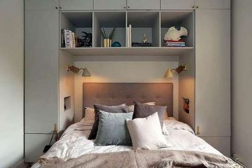 Awesome Modern Small Bedroom Design And Decor Ideas 34