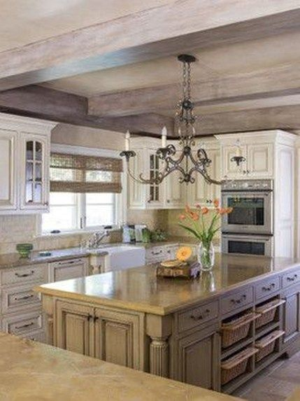 Fabulous French Country Kitchens Design Ideas 01