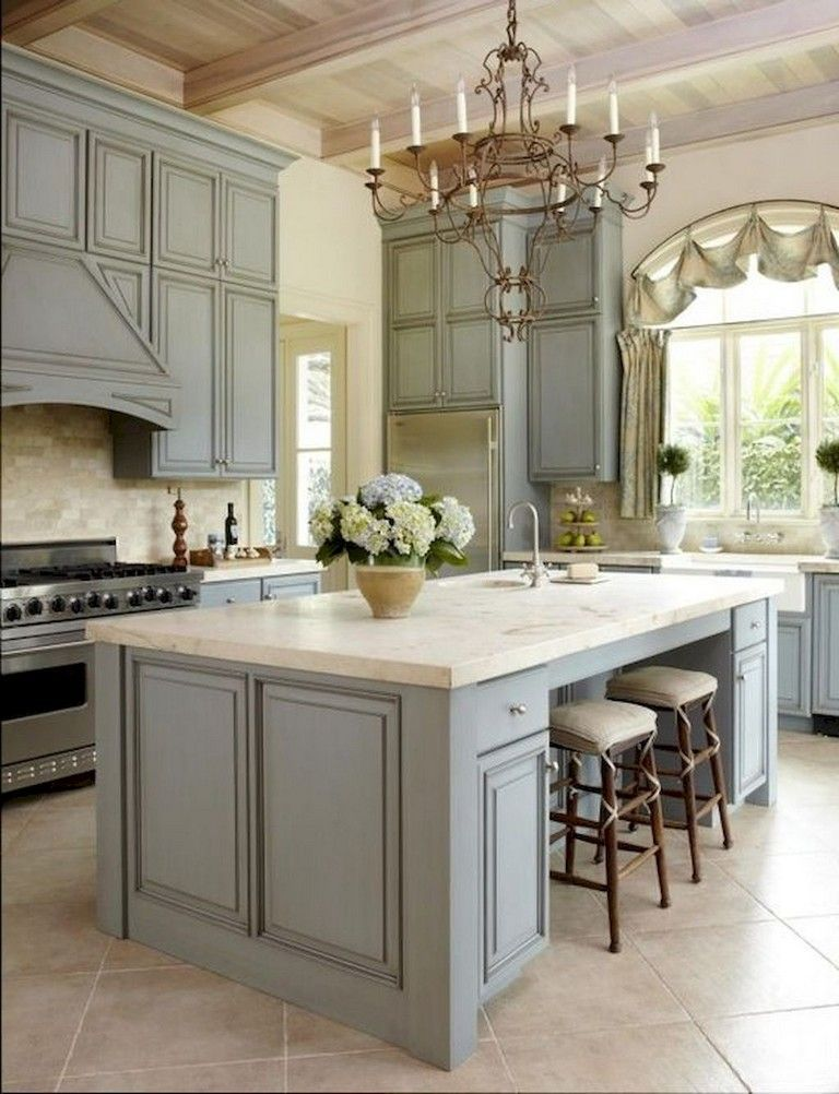 Fabulous French Country Kitchens Design Ideas 16