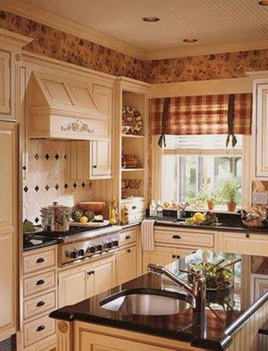Fabulous French Country Kitchens Design Ideas 22