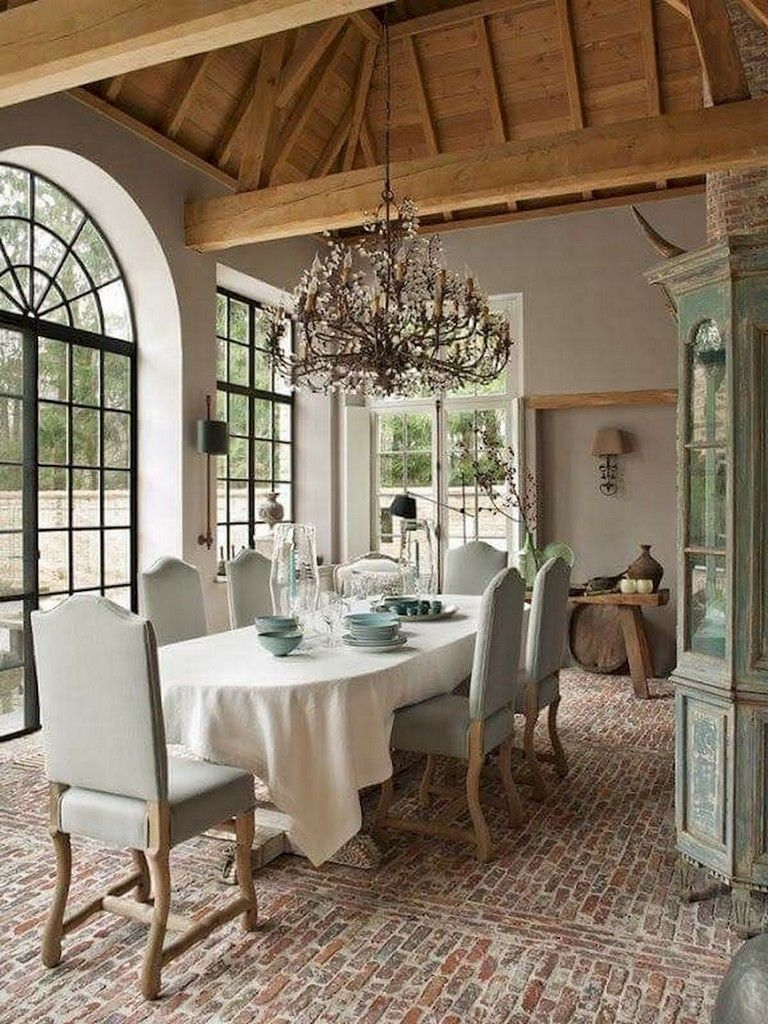 Fabulous French Country Kitchens Design Ideas 29