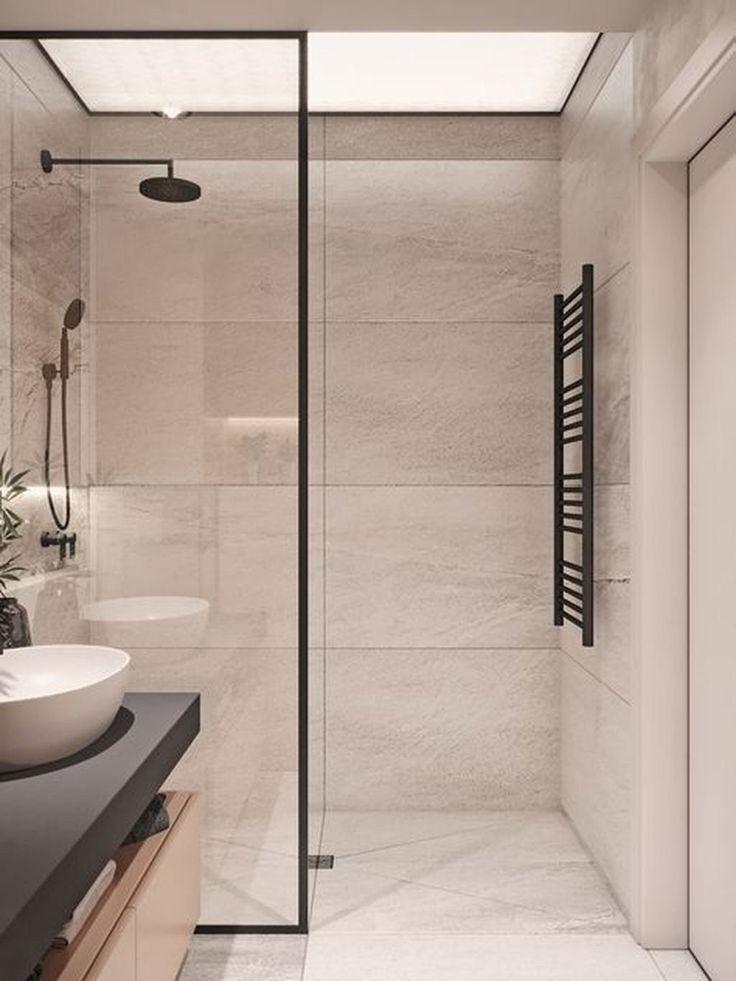 Gorgeous Outstanding Bathrooms Design Ideas 35