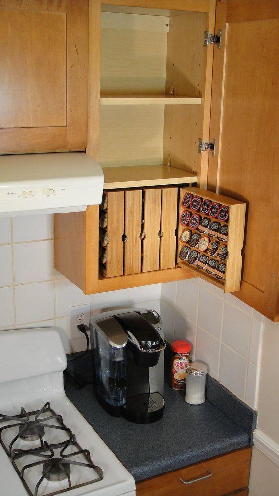 Lovely DIY Kitchen Storage Ideas To Maximize Kitchen Space 03
