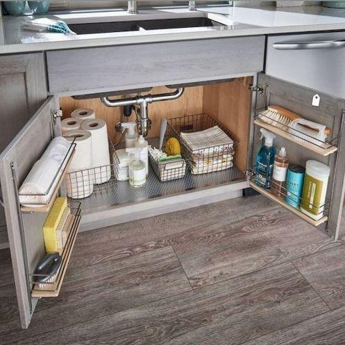 Lovely DIY Kitchen Storage Ideas To Maximize Kitchen Space 28