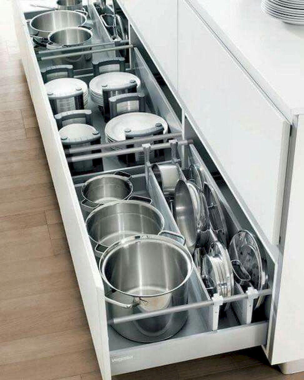 Lovely DIY Kitchen Storage Ideas To Maximize Kitchen Space 29