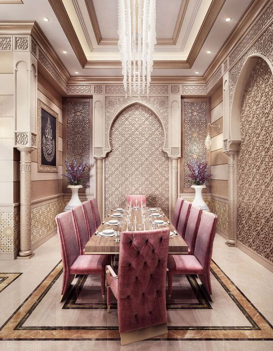 The Best Moroccan Dining Room Decor Ideas 25