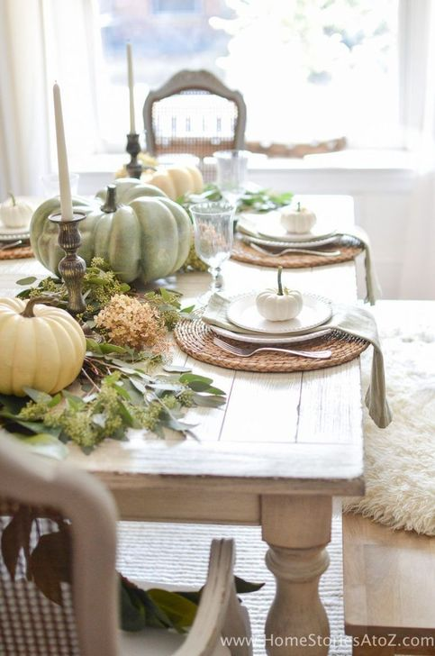 Amazing Fall Dining Table Decor Ideas For Your Dining Room Decor 01