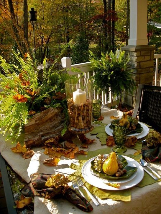 Amazing Fall Dining Table Decor Ideas For Your Dining Room Decor 02