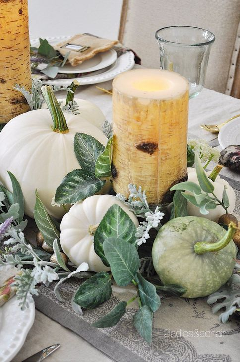 Amazing Fall Dining Table Decor Ideas For Your Dining Room Decor 03