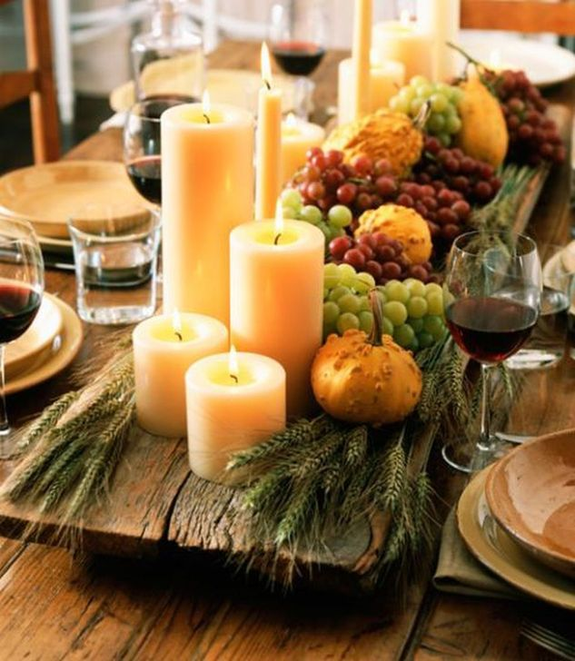 Amazing Fall Dining Table Decor Ideas For Your Dining Room Decor 37