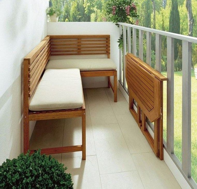 Awesome Apartment Balcony Decorating Ideas 17