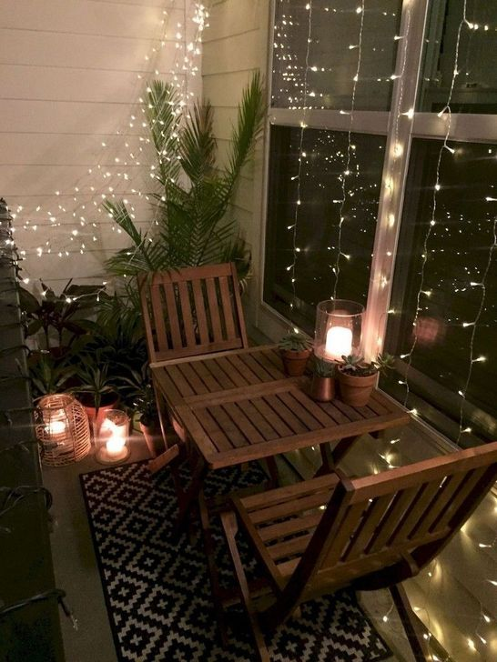 Awesome Apartment Balcony Decorating Ideas 30