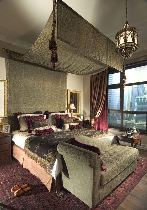 Beautiful Moroccan Bedroom Decor Ideas 25