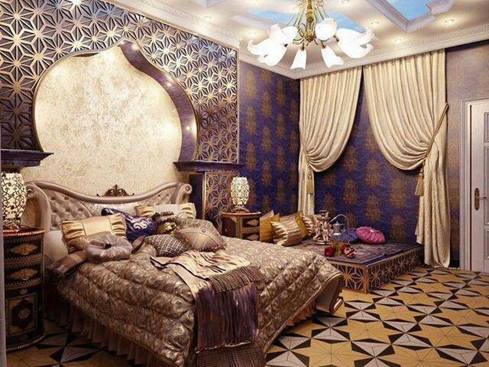 Beautiful Moroccan Bedroom Decor Ideas 32