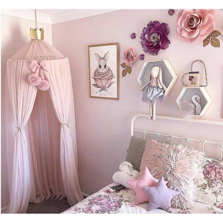 Beautiful Pink Bedroom Decor Ideas Looks Romantic 01
