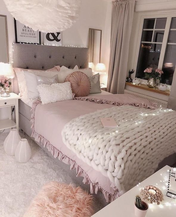 Beautiful Pink Bedroom Decor Ideas Looks Romantic 10