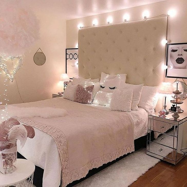 Beautiful Pink Bedroom Decor Ideas Looks Romantic 14