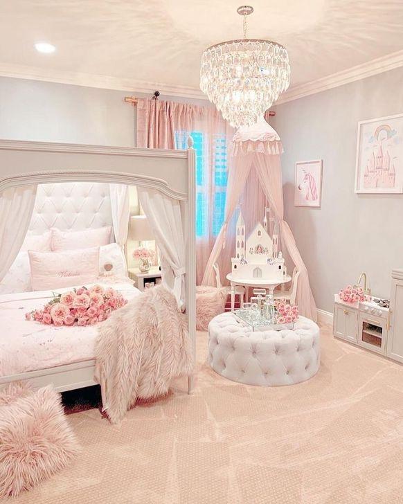 Beautiful Pink Bedroom Decor Ideas Looks Romantic 29
