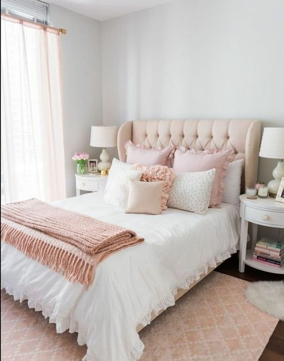 Beautiful Pink Bedroom Decor Ideas Looks Romantic 30