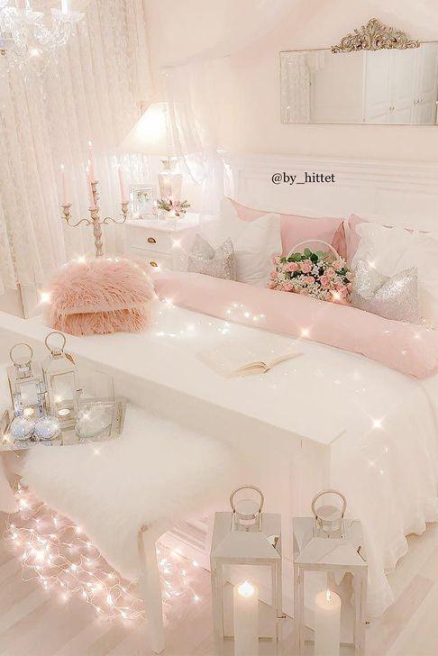 Beautiful Pink Bedroom Decor Ideas Looks Romantic 35