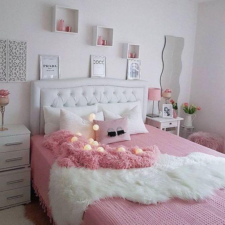 Beautiful Pink Bedroom Decor Ideas Looks Romantic 37