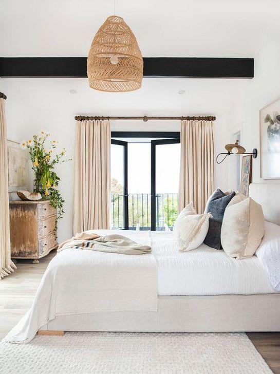 Beautiful White Bedroom Design And Decor Ideas 06
