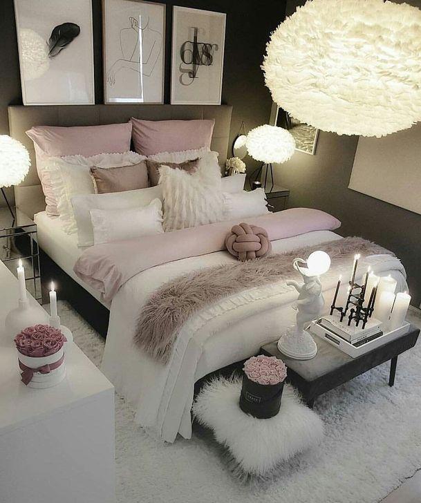 Beautiful White Bedroom Design And Decor Ideas 15
