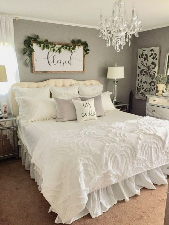 Beautiful White Bedroom Design And Decor Ideas 17