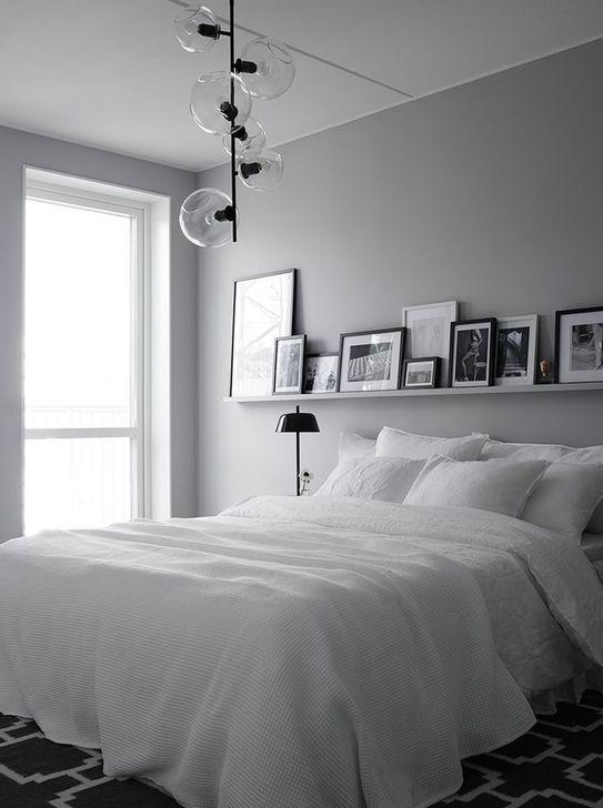 Beautiful White Bedroom Design And Decor Ideas 30