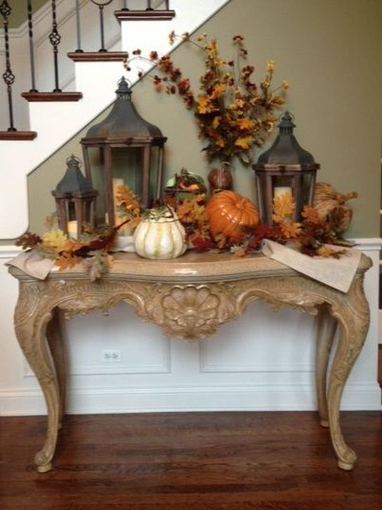 Fabulous Fall Living Room Decor Ideas To Feel Comfortable At Home 28