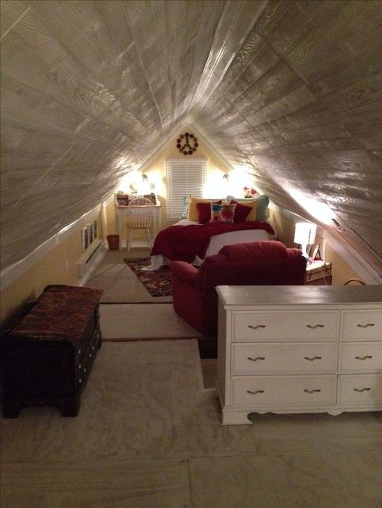 Fabulous Small Attic Bedroom Design Ideas You Will Like 01