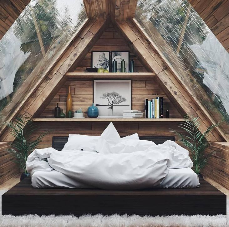 Fabulous Small Attic Bedroom Design Ideas You Will Like 35
