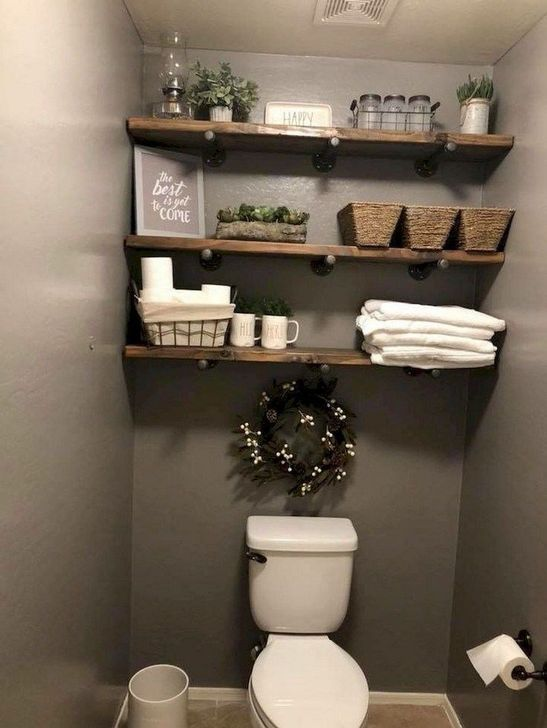 Gorgeous Fall Bathroom Decorating Ideas 33