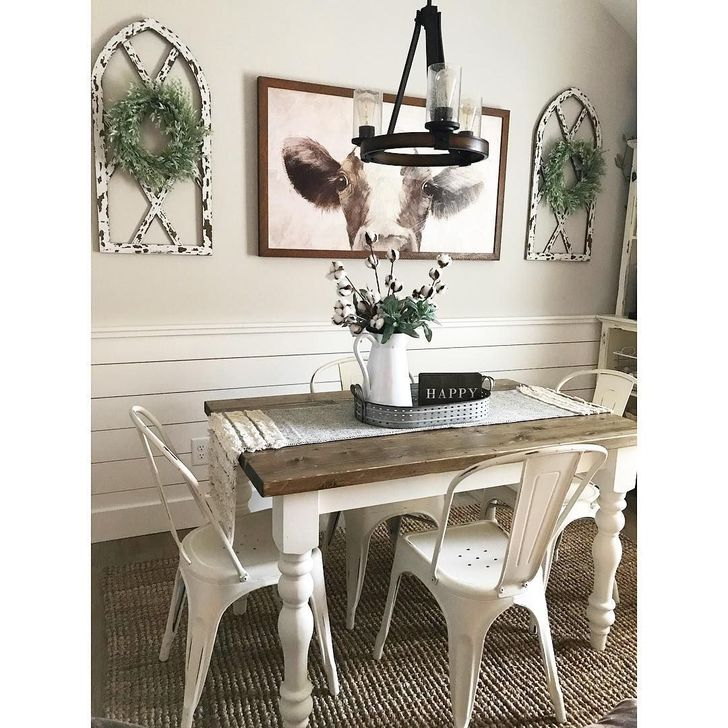 Gorgeous Rustic Dining Room Design Ideas 01